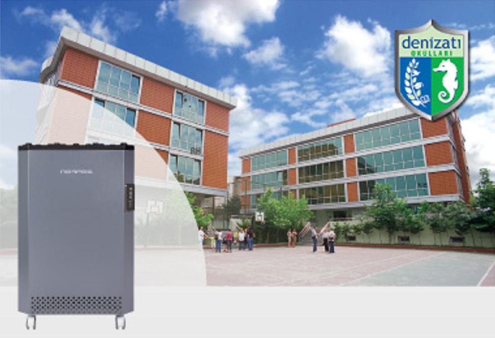 Okullar için hava temizleme cihazı